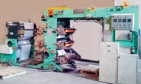 Automatic Reel to Sheet & Flexo Printing Machine