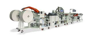 Pocket / Wallet Tissue Converting Machine