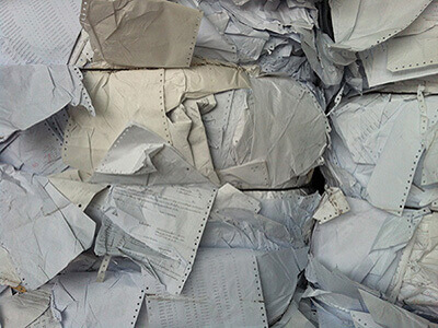 Re-Cycling Paper