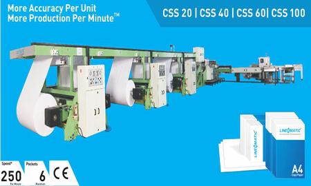 Cut Sizer Sheeter(A4 Line)
