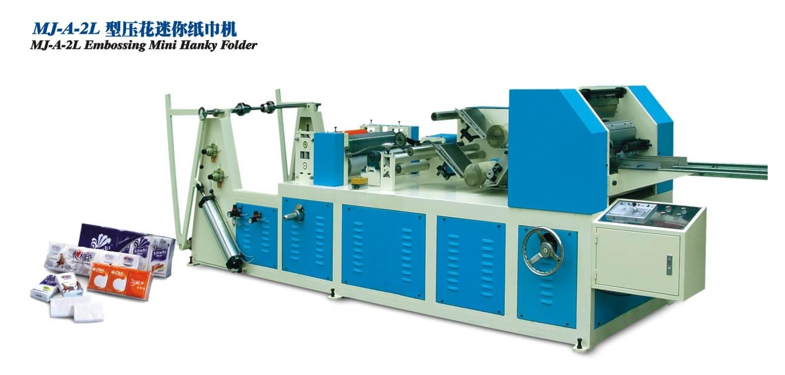 Hanky Tissue Converting Machine